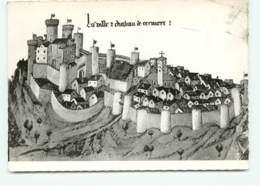 Cervieres, Reconstitution De L'ancien Bourg Feodal(scan Recto-verso) KEVREN0071 - France