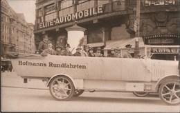 ! Alte Fotokarte Dresden, Hofmanns Rundfahrten, Bus, Elite Automobile, Sachsen - Automobile