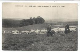 Sornac,prix Revu,les Salands Et La Route De La Gare - Autres Communes