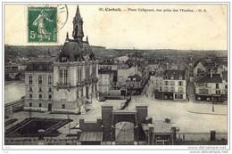 91- CORBEIL - ( Place Galignani Prise Des Moulins) - Corbeil Essonnes