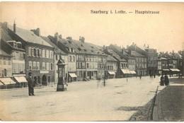 CPA N°23056 - SAARBURG I. LOTHR. - HAUPTSTRASSE - Sarrebourg