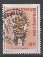 POLYNESIE 1985 STATUETTE    YT   N°  229   TB - Oblitérés