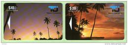 Cook Islands - 1992 First Issue Set (2) - COK1/2 -Mint - Cookeilanden