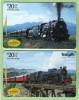 New Zealand - 1998 The Age Of Steam Set (2) - NZ-P-138/9 - Mint - Neuseeland