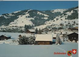 Schönried Im Winter En Hiver - Photoglob - BE Berne