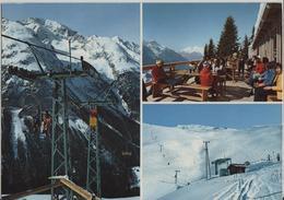 Bergrestaurant Pros Da Darlux, Sesselbahn Und Skilift Piz Darlux Bei Bergün - Photo: C. Puorger-Jehli - GR Grisons