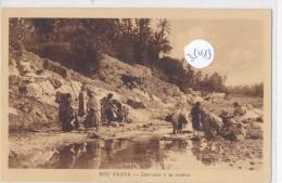 CPA - 35413 -Algérie - Bou Saada - Laveuses à La Rivière - Algeria