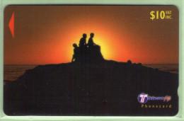 """Fiji - 2000 Dawn & Dusk - $10 People - """"33FJD"""" - FIJ-164c - VFU - Fiji"""