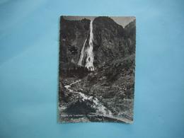Route Du LAUTARET  -  05  -  Cascade De La Pisse  -  Hautes Alpes - France
