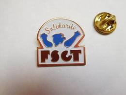 Beau Pin's , Association , Sport , FSGT Solidarité , Fédération Sportive Et Gymnique Du Travail - Associations