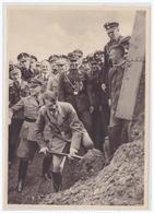 Dt.-Reich (000051) Propaganda Sammelbild, Deutschland Erwacht, Bild 164, Der Erste Spatenstich Zum Beginn Des Baues - Germany