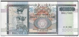 BURUNDI - 1000 Francs 2006 UNC - Burundi