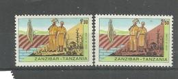 IVERT Nº349/50 ** 1967 - Zanzibar (1963-1968)