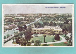 Old Post Card Of Government House,Adelaide, South Australia, Australia,S58. - Adelaide