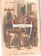 Chromo RICQLES - Uniformes Armée Française : La Garde Nationale 1840 -  Scans Recto-verso - Other
