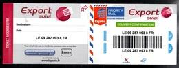 Sticker Lettre Suivie Internationale, Suivi International, Neuf (export Suivi) - Adhésifs (autocollants)