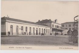 CARTE POSTALE  ALAIS 30  La Gare Des Voyageurs - Alès
