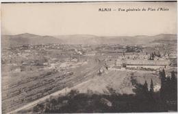 CARTE POSTALE  ALAIS 30  Vue Générale Du Plan D'Alais - Alès