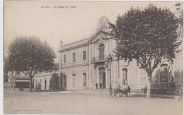 CARTE POSTALE  ALAIS 30  L'hôtel De Ville - Alès