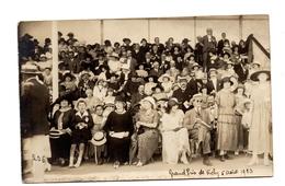 Carte Photo  Souvenir Grand Prix De Vichy  1923 - Vichy