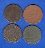 4  Pieces  De  1  Penny - Royal/Of Nobility