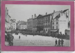 71.- CHALON-SUR-SAÔNE  Funéraille Du Docteur Mauchamps  Assassiné à Marrakech Le 19 Mars 1907 - Groenlandia