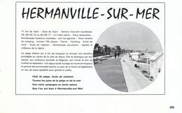 1972 - Iconographie - Hermanville-sur-Mer (Calvados) - Présentation - FRANCO DE PORT - Old Paper