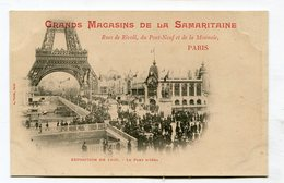 CPA  75 : PARIS Exposition Carte Samaritaine Pont Iéna  A    VOIR  !!!! - Ausstellungen
