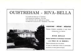 1972 - Iconographie - Ouistreham (Calvados) - Riva-Bella - FRANCO DE PORT - Old Paper