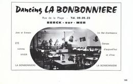1972 - Iconographie - Berck (Pas-de-Calais) - Le Dancing La Bonbonnière - FRANCO DE PORT - Old Paper