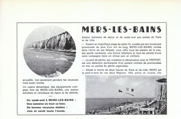 1972 - Iconographie - Mers-les-Bains (Somme) - Présentation - FRANCO DE PORT - Old Paper