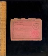 Permis De Conduire Les Automobiles 1936 / Cachets  Plein Tarif 54F + Prix Porté à 64F - Old Paper