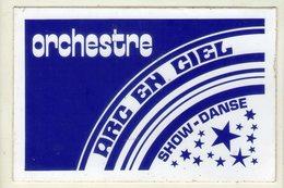 AUTOCOLLANTS . STICKER .ORCHESTRE  ARC EN CIEL . SHOW - DANSE . - Stickers