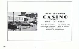 1972 - Iconographie - Mers-les-Bains (Somme) - Le Casino - FRANCO DE PORT - Old Paper
