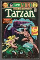 Tarzan Nr 238 - 68 Pages - (In English) DC - National Periodical Publications. Inc. - June 1975 - Joe Kubert - BE - DC