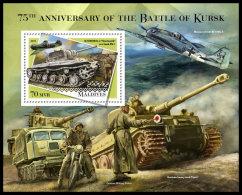MALDIVES 2018 MNH** Battle Of Kursk Schlacht Um Kursk S/S - IMPERFORATED - DH1834 - 2. Weltkrieg