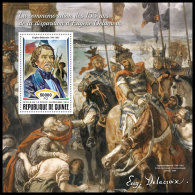 GUINEA REP. 2018 MNH** Eugene Delacroix Painter Maler Peintre S/S - OFFICIAL ISSUE - DH1837 - Altri
