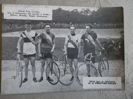 PHOTO CYCLISME PISTE DAYEN REVELLY ENGEL KAUFMANN PRESTINE-VELOX - Cyclisme