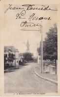 CPA LE MENOUX (INDRE) VUE DE L' EGLISE - Otros Municipios
