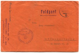 Germany Wehrmacht 1944. WW2, Feldpost Nr. 629 / 49456, Luftgaupostamt Munchen, Italian Front ( With The Content ) - 2. Weltkrieg