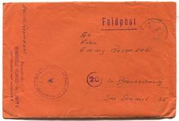 Germany Wehrmacht 1944. WW2, Feldpost Nr. 629 / 56177, Luftgaupostamt Munchen, Italian Front ( With The Content ) - 2. Weltkrieg