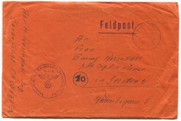 Germany Wehrmacht 1944. WW2, Feldpost Nr. 629 / 56177,  Italian Front ( With The Content ) - 2. Weltkrieg