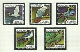Gabon  N°278 à 282 Neufs** Cote 17 Euros - Gabon