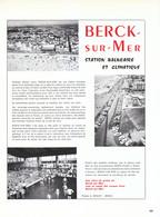 1972 - Iconographie - Berck (Pas-de-Calais) - Présentation - FRANCO DE PORT - Old Paper