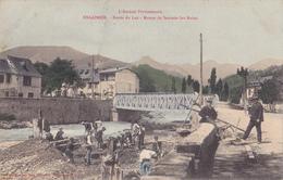 ENGOMER  -  BORDS DU LEZ  -  ROUTE DE SENTEIN LES BAINS - Frankrijk