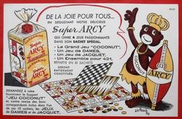 Ancien Buvard D'Ecole PUBLICITAIRE  Margarine ARCY, Illustrateur - Other