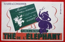 Ancien Buvard D'Ecole PUBLICITAIRE  The ELEPHANT, Illustrateur - Other