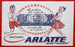 Ancien Buvard D'Ecole PUBLICITAIRE  59 Cambrai ARLATTE, Illustrateur - Other