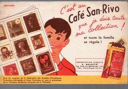 Buvard  CAFE SAN RIVO (PPP9334) - Coffee & Tea