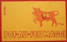 Ancien Buvard D'Ecole PUBLICITAIRE  POT AU FEU MAGGI, Illustrateur - Other